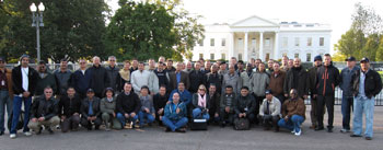 DRMI participants pose for a photo in Washington, D.C.