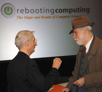 Peter Denning and Vint Cerf discuss computer science