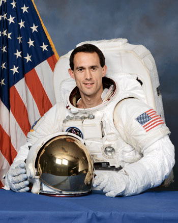 Astronaut James Newman