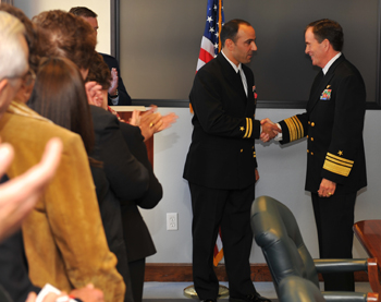 Panetta receives Bronze Star